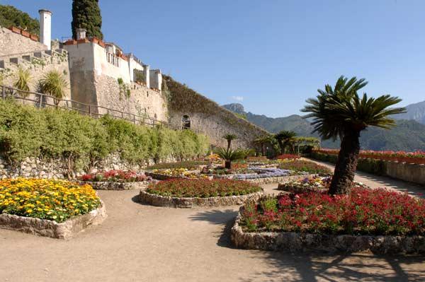 Villa rufolo ravello il giardino - Immagini di giardini di villette ...